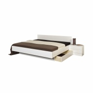 Bett Alpine-Furniture weiss